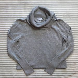 Calvin Klein Cowl Turtleneck Sweater